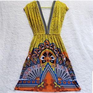 White Mark Bohemian Summer Dress